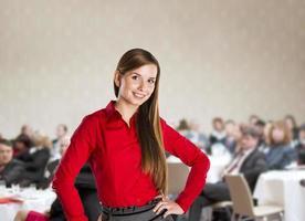 Conferência de negócios foto