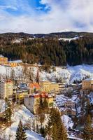 montanhas estação de esqui bad gastein áustria foto
