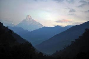 maciço annapurna. Nepal.