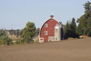 cenas rurais de palouse valley, washington state foto