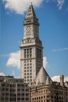 a antiga alfândega do centro de boston foto