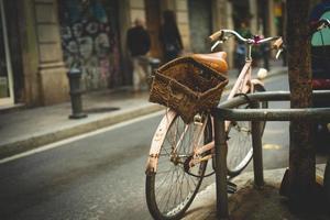 bicicleta velha foto
