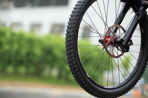 pneu de bicicleta foto