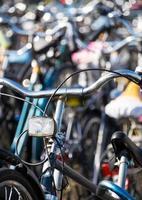 bicicletas na holanda foto