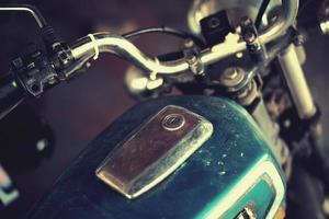 moto velha vintage foto