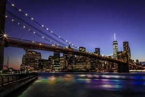 ponte de brooklyn nova iorque foto