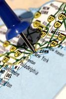 mapa de nova york foto