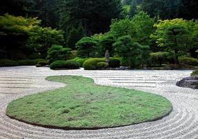 Jardim japonês foto