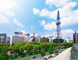 torre de televisão de nagoya foto