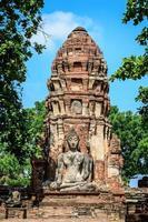ruínas antigas, tailândia