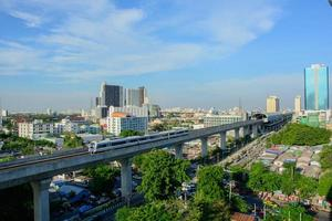 ligação ferroviária Bangkok-aeroporto