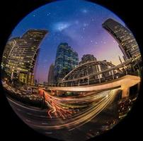 noite no bangkok foto