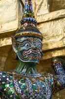 guardião demônio wat phra kaeo foto