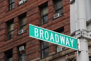 broadway, nova iorque foto