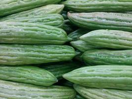 carrinho de vegetais no mercado de Nova york. foto