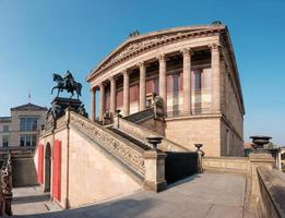 antiga galeria nacional em Berlim foto