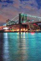 cidade de nova york manhattan foto