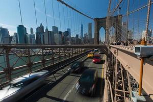 nova iorque - ponte de brooklyn foto
