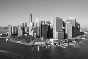 vista da cidade de manhattan, nova york, eua. foto