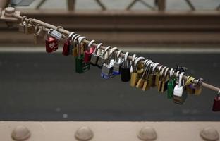 fechaduras de amor foto