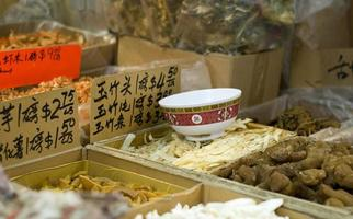 tigela em chinatown foto