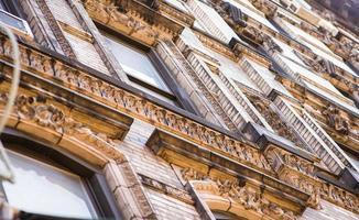 detalhe do edifício vitoriano foto