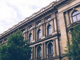 antigo prédio vintage