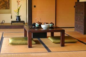 sala de chá japonês foto