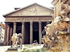 panteão em roma foto