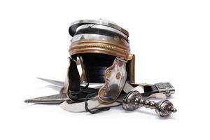 capacete e espada foto