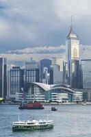 paisagem urbana de hong kong