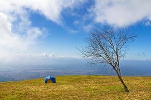 barraca de acampamento foto