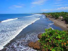 playa de acajutla, salvador foto