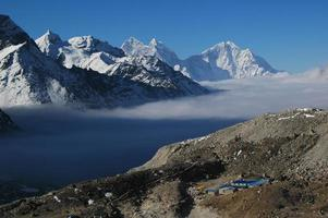 gokyo ri. Himalaia no Nepal.