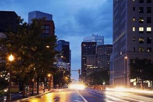denver - tráfego na rua foto