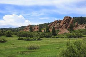 parque estadual de roxborough em colorado foto