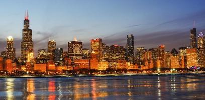 chicago skline foto