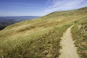 trilha com vista foto