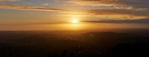 panorama do sol foto