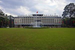 palácio da reunificação na cidade de ho chi minh foto