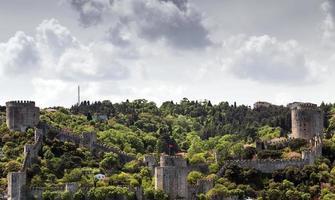 fortaleza em istambul, turquia foto