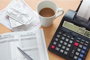 contabilidade de vendas da contabilidade foto