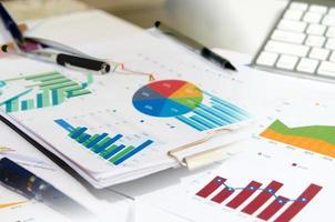 documentos do conceito de negócio foto