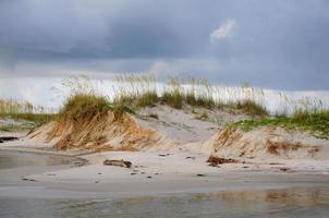 dunas de areia no golfo foto