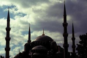 mesquita azul istambul foto