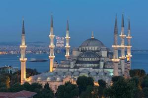 a mesquita azul foto