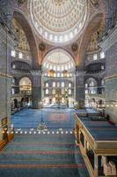 nova mesquita em fatih, istambul