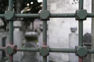 fundo de ferro otomano foto