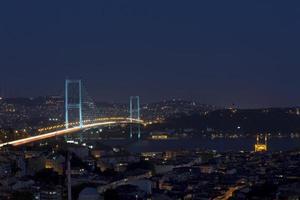 ponte do bósforo (boğaziçi köprüsü) foto