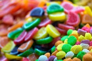 doces coloridos foto